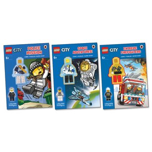 LEGO® CITY™ Activity Book Pack x 3