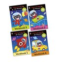 Ladybird: I'm Ready... for Phonics! Sticker Workbooks Pack x 4