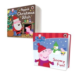 Peppa Pig Christmas Board Book Pair