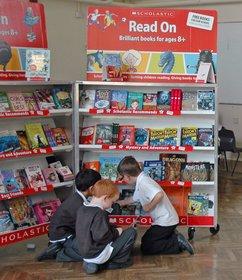 Book Fair photo - kids shelf