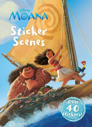 Disney Moana: Sticker Scenes