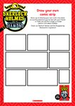 Baker Street Academy - Draw your own comic strip (1 page)