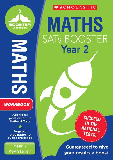 National Curriculum SATs Booster Programme: Maths Workbook (Year 2) x 10