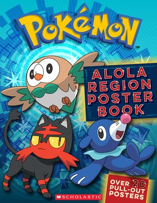 Alola Region Poster Book