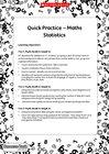 Quick Practice – Statistics