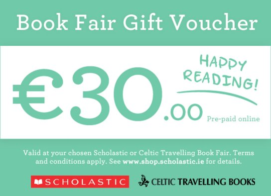 Book Fair Gift Voucher €30