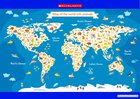 Map of the world's animals