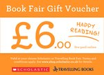 Book Fair Gift Voucher £6