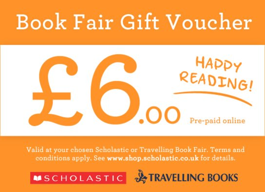 Book Fair Gift Voucher £6