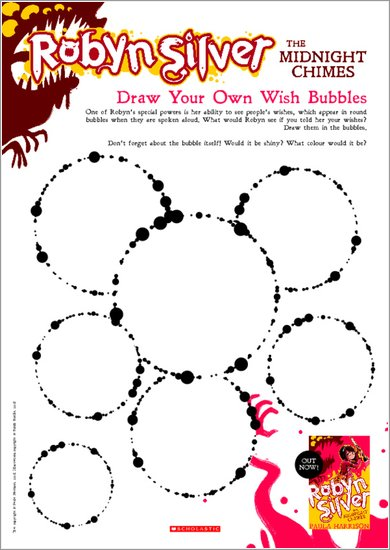 Robyn Silver: The Midnight Chimes - Draw Your Own Wish Bubbles