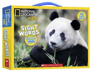 National Geographic Kids: Sight Words Box Set (12-Book Reading Programme)