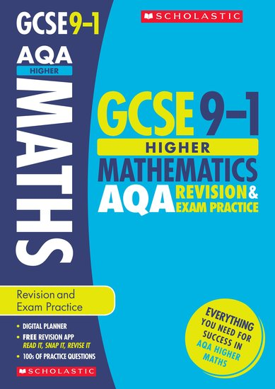 GCSE Grades 9-1: Higher Maths AQA Revision and Exam Practice Book x 30