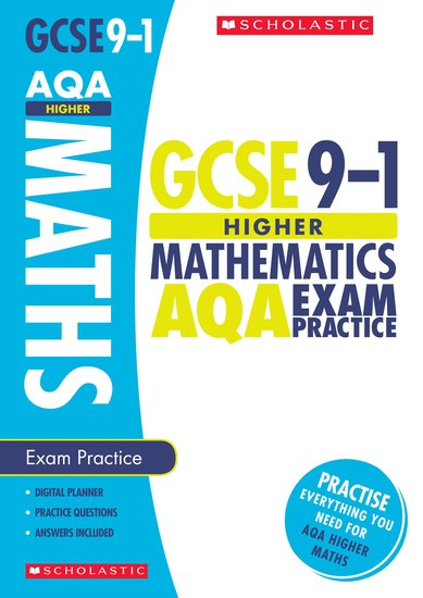 GCSE Grades 9-1: Higher Maths AQA Exam Practice Book x 30
