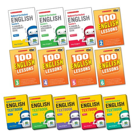 National Curriculum English Core Pack x 15 (83 books)
