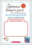 The Lighthouse Keeper's Lunch Drawing Lunchbox Activity (1 page)