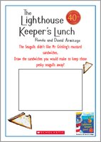 The Lighthouse Keeper's Lunch Drawing Sandwiches Activity