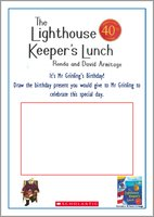 The Lighthouse Keeper's Lunch Drawing Present Activity