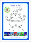 Aliens Love Underpants - Colour in the Alien! (1 page)