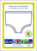 Aliens Love Underpants - Design Your Own Underpants!