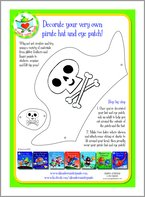 Aliens Love Underpants - Decorate Your Very Own Pirate Hat and Eye Patch!