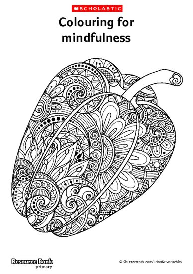 Mindfulness Colouring Sheets Scholastic Shop