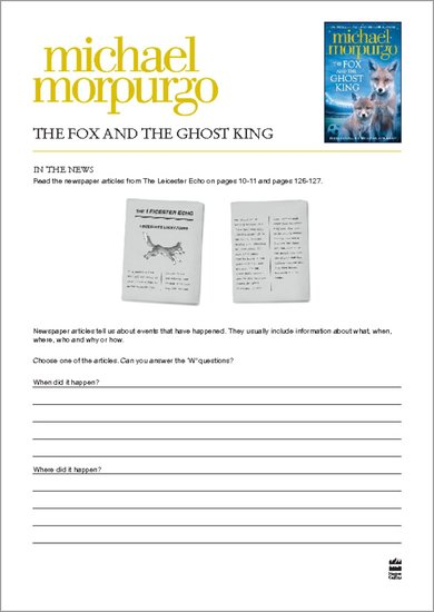The Fox and the Ghost King - In the News