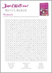 Awful Auntie Wordsearch (1 page)