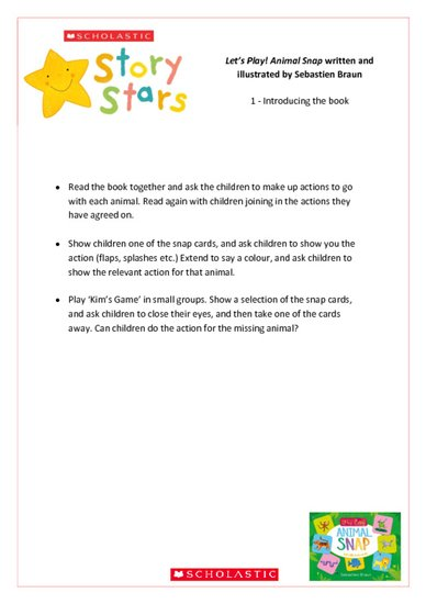 story stars resource - let's play! animal snap.pdf