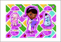 Disney doc mcstuffins press out character cards 1565637