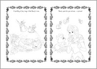 Disney Palace Pets - Colouring Sheet