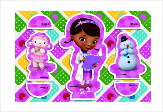 DocMcStuffins - Cut-out Character Cards 1