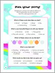 My Little Pony - Pick Your Pony Quiz (2 pages)