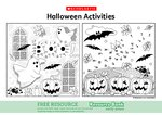 Halloween Activities (2 pages)