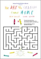 The day the crayons came home maze 1548135