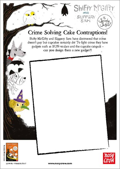 Shifty McGifty and Slippery Sam: The Spooky School - Crime Solving Cake Contraptions!