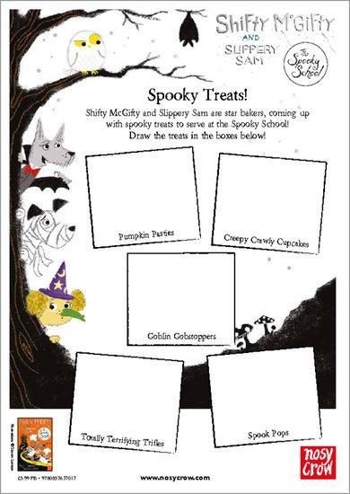 Shifty McGifty and Slippery Sam: The Spooky School - Spooky Treats