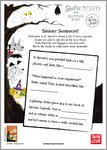 Shifty McGifty and Slippery Sam: The Spooky School - Sinister Sentences! (1 page)
