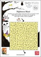 Shifty McGifty and Slippery Sam: The Spooky School - Nightmare Maze!