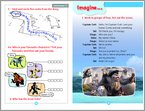 Ice Age 4: Continenatal Drift - Sample Activity (1 page)