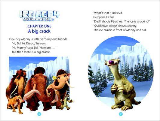 Ice Age 4: Continental Drift - Sample Chapter