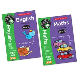 Perfect Practice: English and Maths Pair (Year 3)