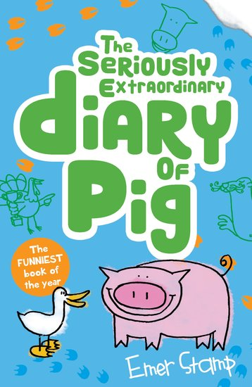 Image result for the seriously extraordinary diary of a pig book