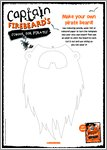 Captain Firebeard Activity Sheet - Pirate Beard (1 page)