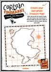 Captain Firebeard Activity Sheet - Treasure Map (1 page)