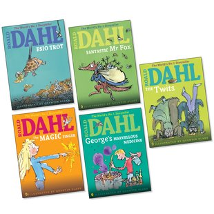 Roald Dahl Colour Pack x 5