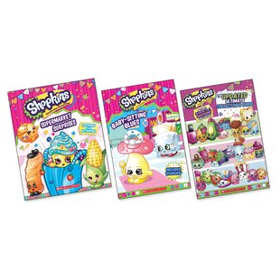 Shopkins Pack x 3