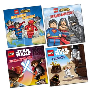LEGO® Picture Books Pack x 4