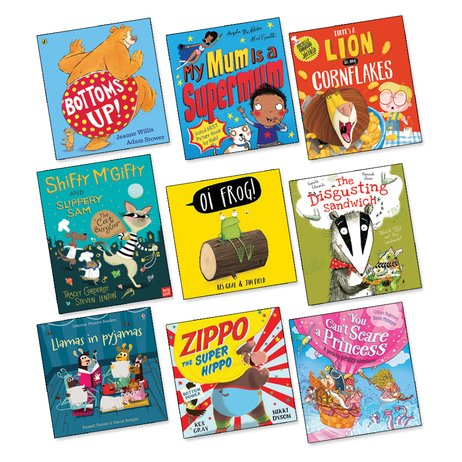 Picture Books to Make You Giggle Pack x 9