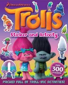 Trolls Sticker Activity