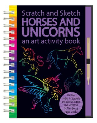 Scratch and Sketch: Horses and Unicorns